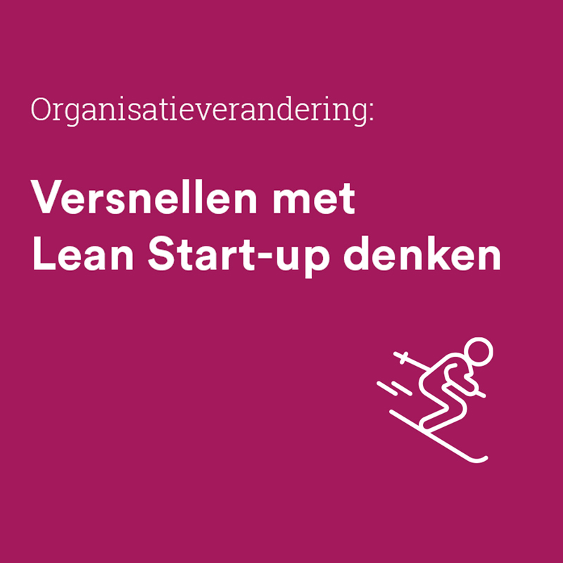 Versnellen met Lean Start-up