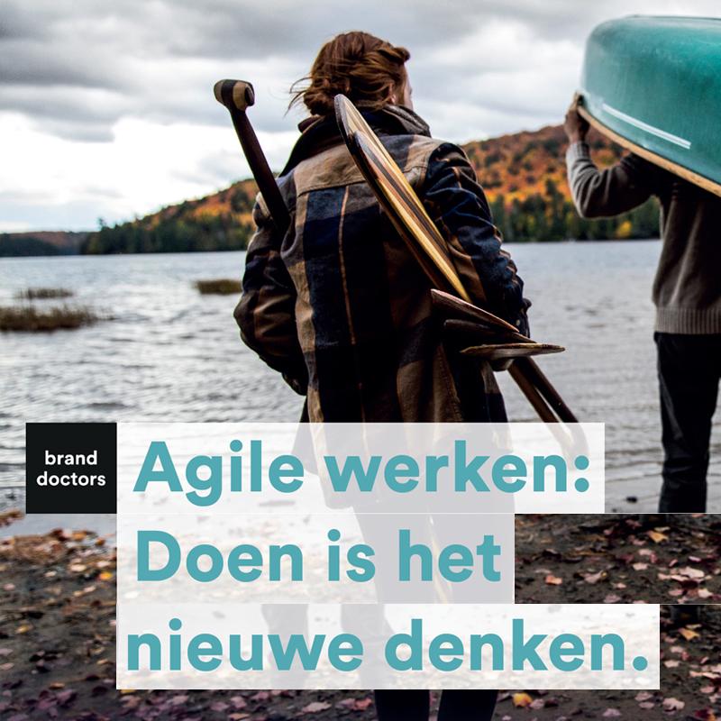 Agile werken: Doen is het nieuwe denken