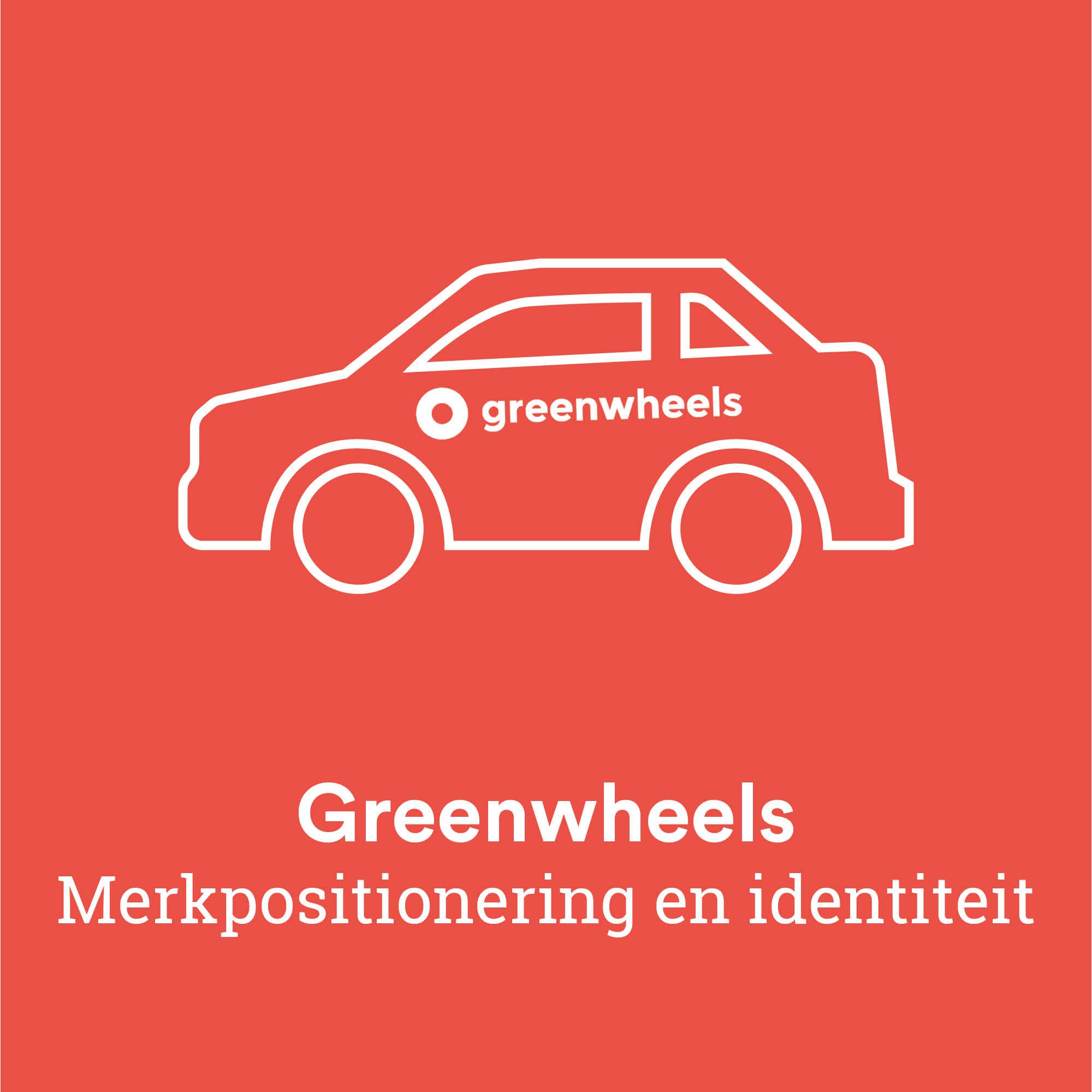 Greenwheels merkpositionering en identiteit