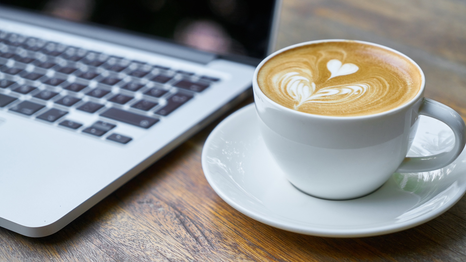 Virtual cup of coffee