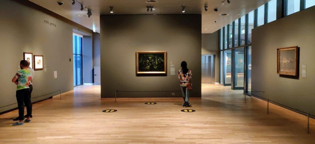 Rest in the Van Gogh Museum